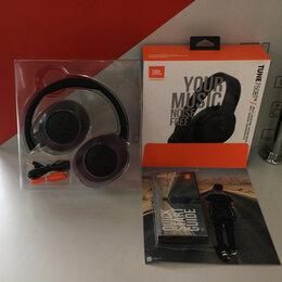 Компьютерная акустика - Bluetooth стереогарнитура JBL T750BTNC чёрный, 0