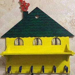 Настенные ключницы и шкафчики - Ключница домик , 0