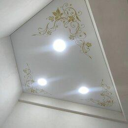Потолки и комплектующие - натяжные потолки  с фотопечатью, 0