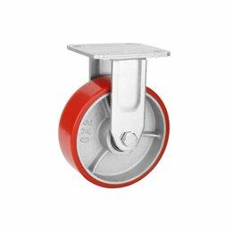 Оборудование для транспортировки - Колесо большегрузное полиуретановое неповоротное ф 100, 125, 150, 200 мм, 0