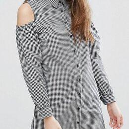 Платья - Платье-рубашка с вырезами на плечах New Look, р-р 42 (русс), 0