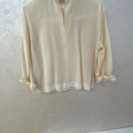 Блузки и кофточки - Блуза с оборками, 0