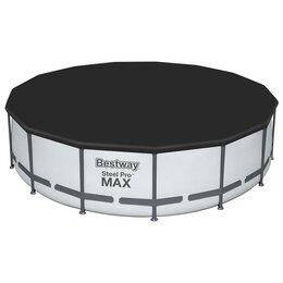 Тенты и подстилки - Тент для каркасных бассейнов, d=457 см, 58038 Bestway, 0
