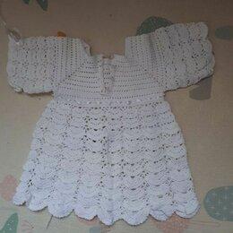 Крестильная одежда - Красивое крестильное платье крючком для девочки 1 год, 0