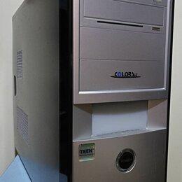 Настольные компьютеры - Компьютер 2ядра/4GB/200GB/VC 512MB/450W/NET/Audio/WIN 10 64bit, 0