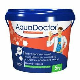Химические средства - Дезинфектор AquaDoctor хлор-шок C-60 1 кг в гранулах, 0