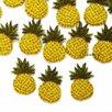 Нашивка на одежду аппликация вышитый ананас для декора патч 2х3 по цене 45₽ - Рукоделие, поделки и сопутствующие товары, фото 1