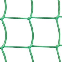 Заборчики, сетки и бордюрные ленты - Сетка садовая Ф-90, ячейка 90x100мм, рулон 1x10м, зеленая, 0