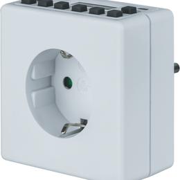 Холодильники - Таймер 61 556 NTR-E-S02-WH розет. электрон.…, 0