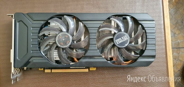 Видеокарта GeForce GTX 1060 (6 ГБ GDDR5) по цене 21000₽ - Видеокарты, фото 0