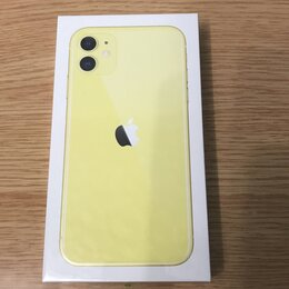 Мобильные телефоны - Apple iphone 11 64gb yellow, 0