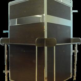 Ирригаторы - Berk Кегератор Berk 8 Бизнес с двустворчатым дверным проемом с белой рамой, 0