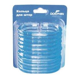 Интерьерная подсветка - Антик Кольца для занавесок Dolphin голубой артикул 104103, 0
