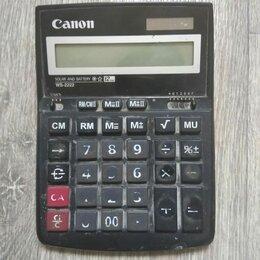 Калькуляторы - Калькулятор Canon , 0