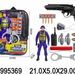 """Полицейские и шпионы - Набор полицейского в сумке """"Задержание 2"""", 15 предметов, 0"""
