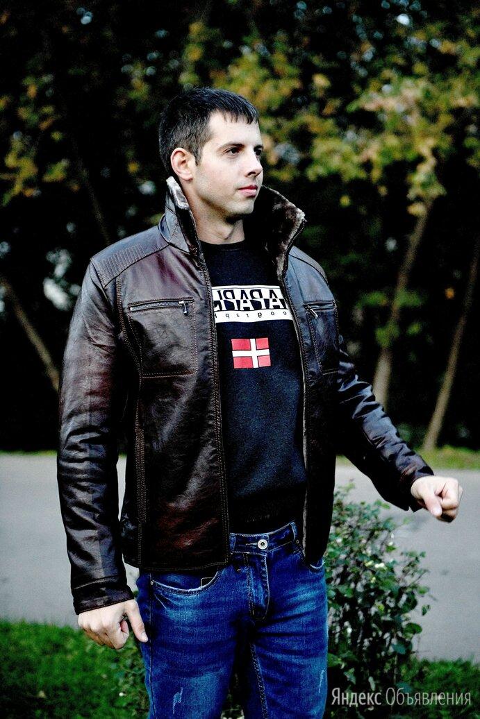 Куртка кожзам мужская зимняя по цене 5000₽ - Куртки, фото 0