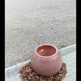 Садовые фигуры и цветочницы - Природный камень вазоны, 0