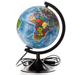 Глобусы - Глобус политический «Классик», диаметр 210 мм, с подсветкой, 0
