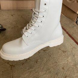 Ботинки - Белые ботинки женские , 0