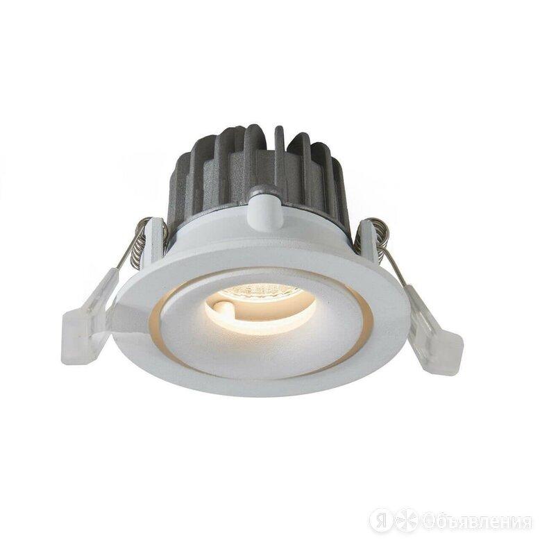 Встраиваемый светодиодный светильник Arte Lamp Apertura A3315PL-1WH по цене 2290₽ - Встраиваемые светильники, фото 0