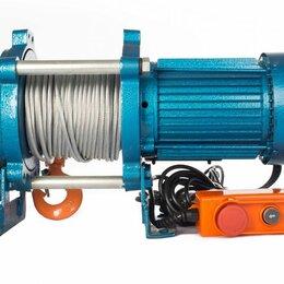 Грузоподъемное оборудование - Лебедка TOR ЛЭК-300 E21 (KCD) 300 кг, 380 В с канатом 70 м, 0
