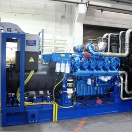 Электрогенераторы и станции - Газовая электростанция 1000 кВт, 0