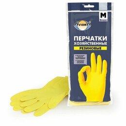 Средства индивидуальной защиты - Перчатки хоз. Латексные Aviora (M), 0