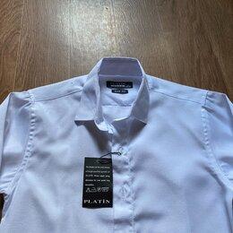 Рубашки - Детская белая рубашка (134-150), 0