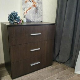 Комоды - Комод темно коричнего цвета в спальню, 0