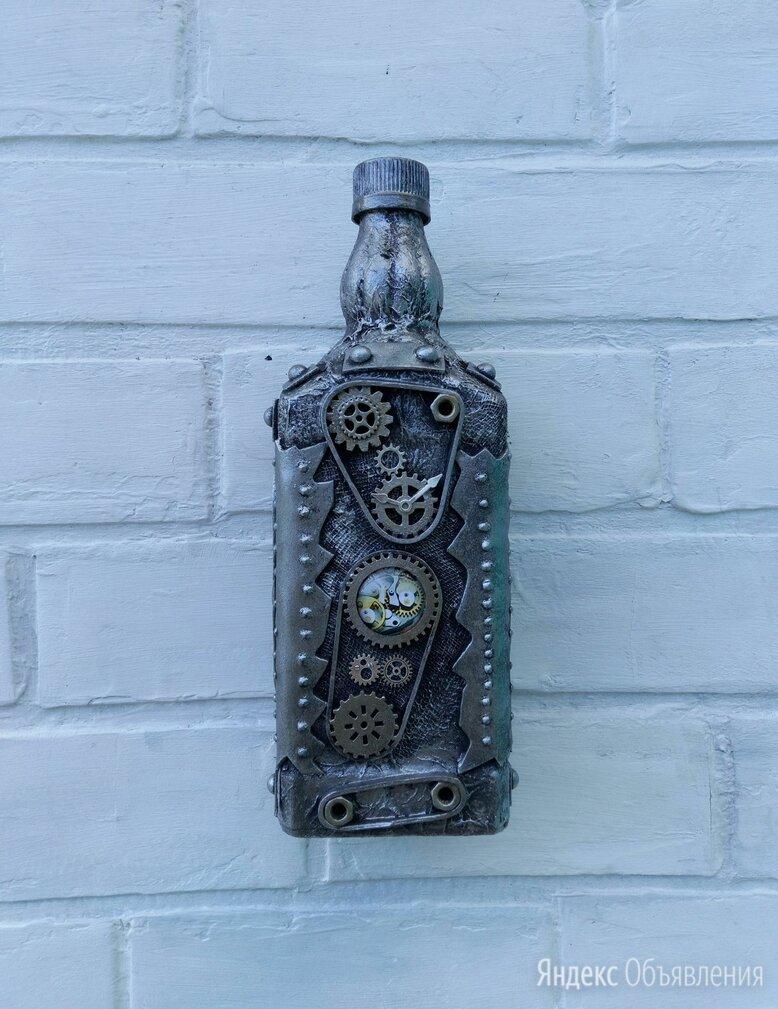 Бутылка стимпанк  по цене 500₽ - Бутылки, фото 0