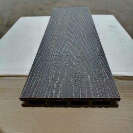 Древесно-плитные материалы - Террасная доска из ДПК Altay Decking состаренное дерево 3D Венге, 0