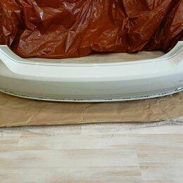 Кузовные запчасти - Задний бампер поло седан 5 рестайлинг белый, 0