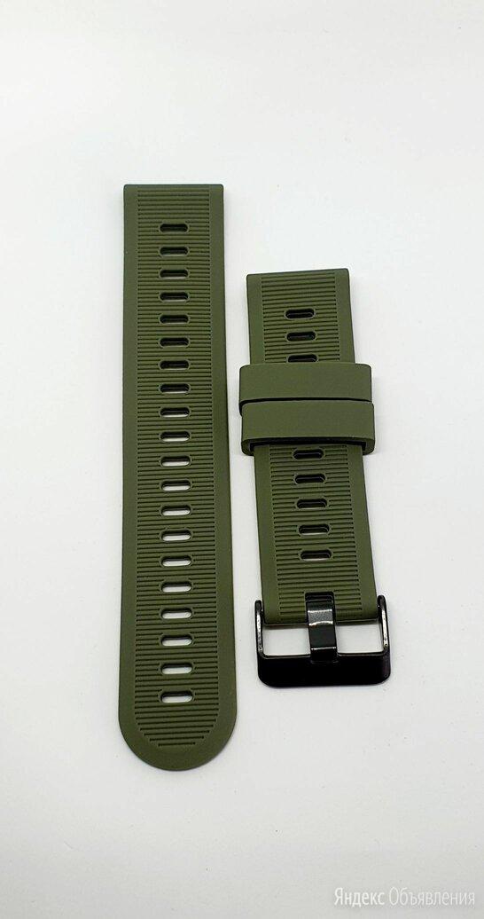 Garmin силиконовый ремешок для Garmin instinct 22mm по цене 499₽ - Ремешки для умных часов, фото 0