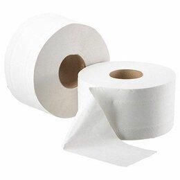 Туалетная бумага и полотенца - Туалетная бумага Стандарт 1 слой белая 200 м, 0
