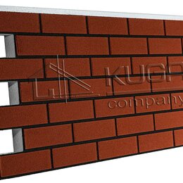 Фасадные панели - Термопанель Клинкер, Терракот (0,858м2), 0