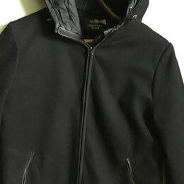 Пальто - полупальто с капюшоном утеплённое р.44/48, 0