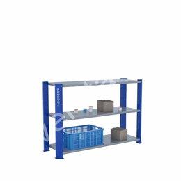 Стеллажи - Сборный стеллаж для дома KronVuz CT H3 15Х10, 0