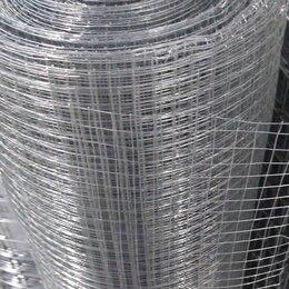 Заборчики, сетки и бордюрные ленты - Сетка сварная 6х6х0.5/0,4мм 1х15м оцинкованная, 0
