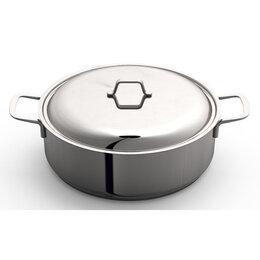 Сковороды и сотейники - Сотейник из нерж.стали с крышкой 28см, линия Ideal Kukmara СН289, 0