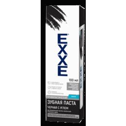 Зубная паста - Паста зубная EXXE 100мл Черная с углем, 0
