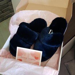 Домашняя обувь - Шерстяные тапочки, 0