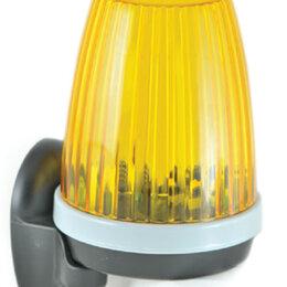 Шлагбаумы и автоматика для ворот - Сигнальная лампа AN-Motors F5000 со встроенной антенной универсальная, 0
