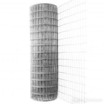 Сетка сварная оцинк. 50*50 (2,0*15) d-2.2 по цене 167₽ - Заборчики, сетки и бордюрные ленты, фото 0