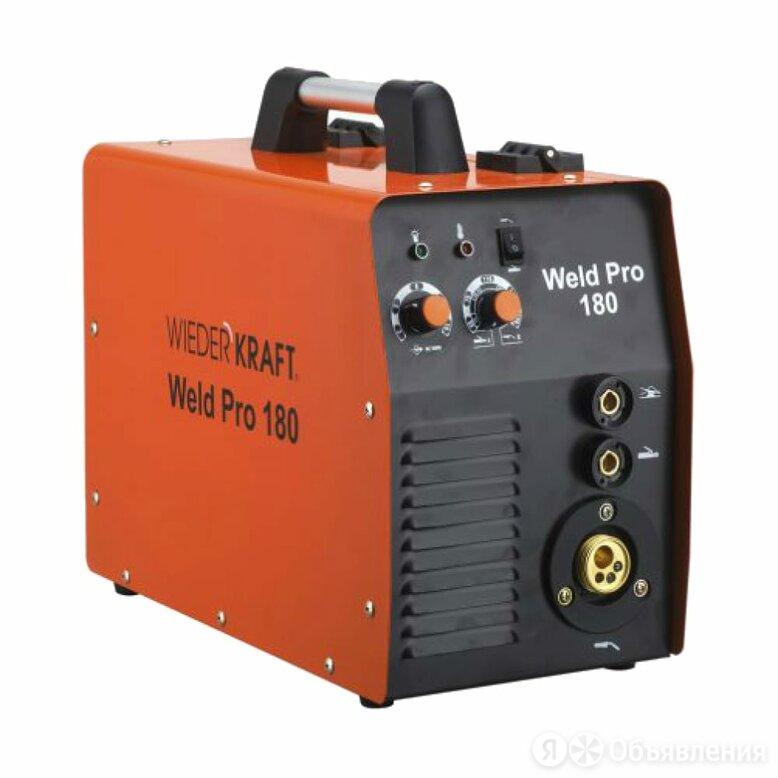 Универсальный сварочный инвертор WIEDERKRAFT Weld Pro 180 по цене 30319₽ - Сварочные аппараты, фото 0