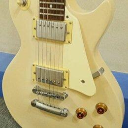 Электрогитары и бас-гитары - В резерве - Гитара Flight Les Paul Studio Alpine White. Бесплатная Доставка, 0