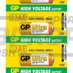 Батарейки - Элемент питания GP Super 23AE-ВC5 1/5, 0
