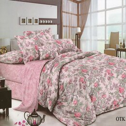 Постельное белье - Комплект постельного белья Любовь Парижа Семейный сатин, 0
