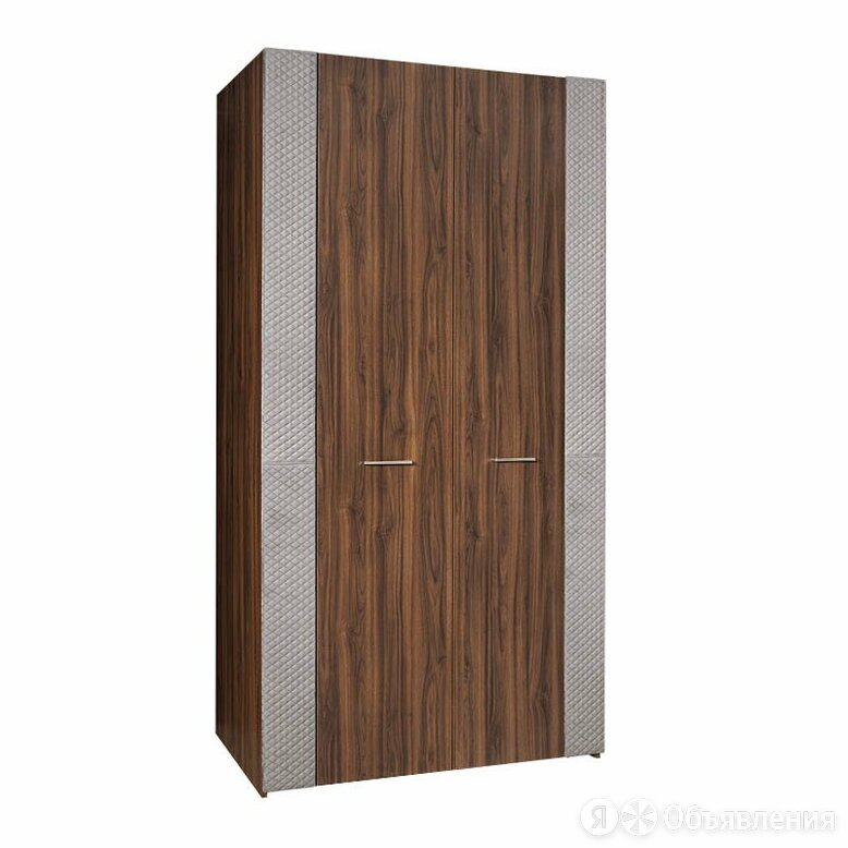 "Шкаф 2-х дверный для платья и белья (без зеркал) ЧШ2/2(Э) ""Челси Элеганс"" (Ка... по цене 17400₽ - Шкафы, стенки, гарнитуры, фото 0"