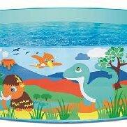Бассейны - Бассейн надувной «Дикие животные», жёсткий борт, 183 х 38 см, от 2 лет, 55022..., 0