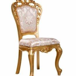 Кресла и стулья - Стул Маркиза белый/золото, 0